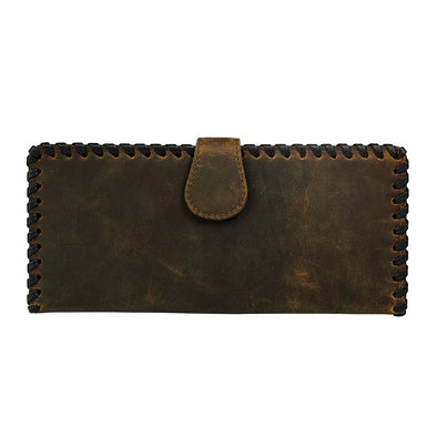Sepia Hunter Leather Wallet