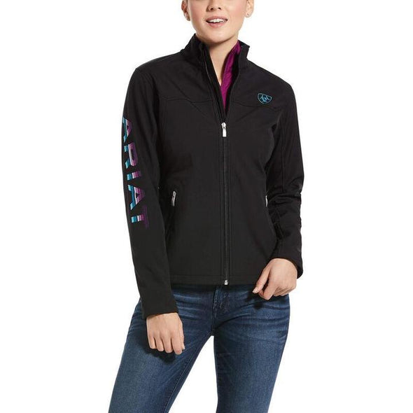 Ariat New Team Softshell Jacket - Black/Serape