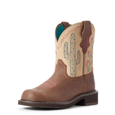 Ariat Ladies Fatbaby Heritage Desert - Brown Barely/Sand