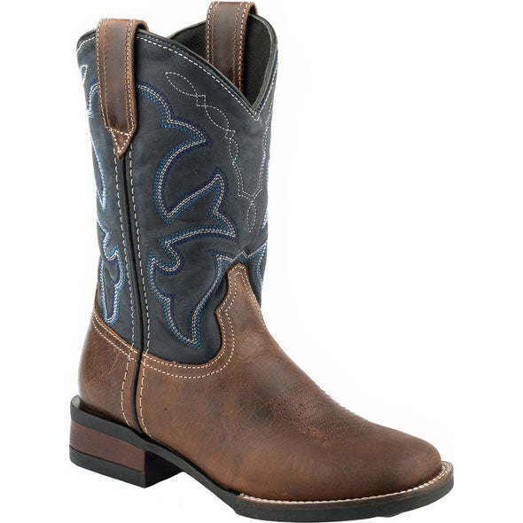 Roper Little Kids Monterey Brown Boots