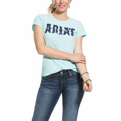 Ariat Ladies REAL Logo Tee