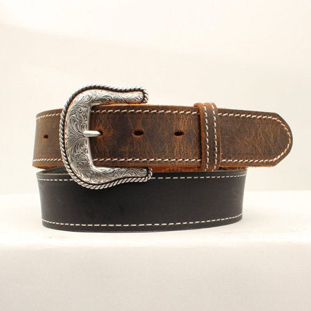 Nocona Mens Lubbock Leather Belt