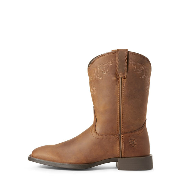 Ariat Ladies Roper Wide Square Toe Boots