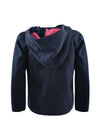 Thomas Cook Girls Zip Through Fleece Jumper