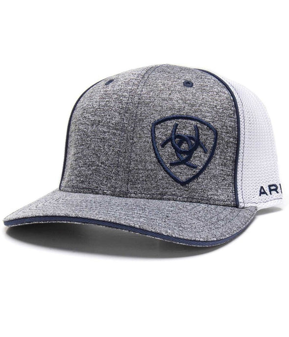 Ariat Grey Trucker Logo Cap