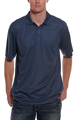 Ariat Mens Tek Polo - Blue Pine