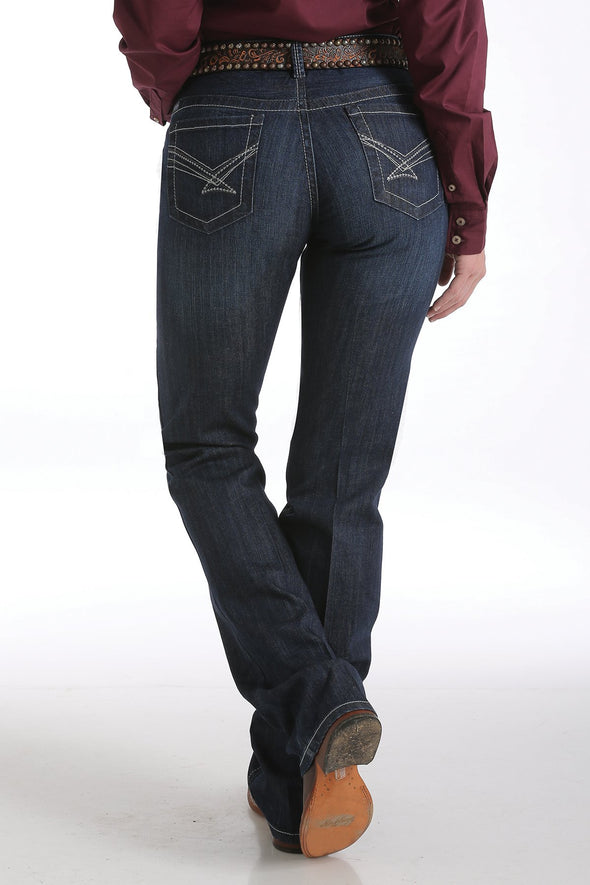 Cinch Ada Relaxed Fit Jeans - Dark Stonewash