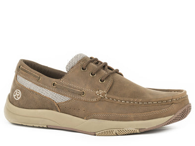 Roper Men's Clearcut Swifter Sole Boat Shoe