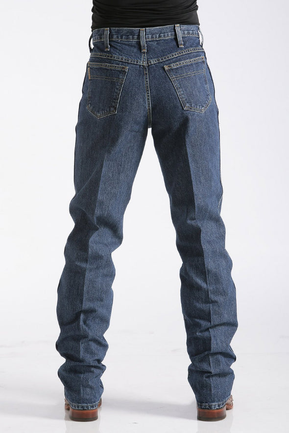 Cinch Mens Green Label Relaxed Fit Jeans - Dark Stonewash