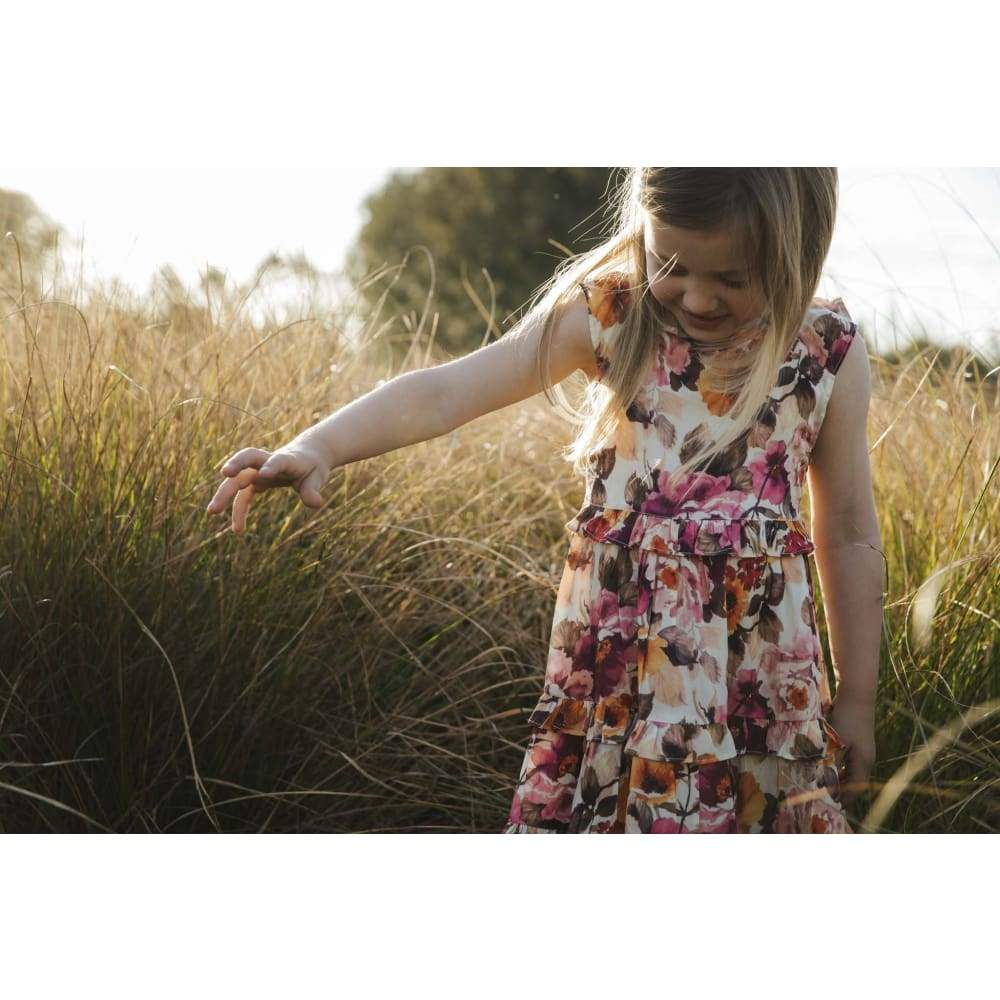 Happy Floral Dress - Childrens