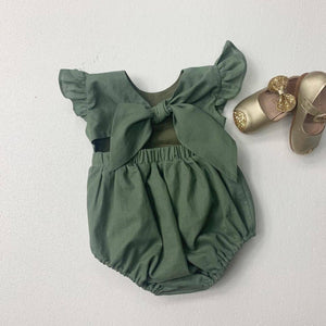 Summer Frill Romper PRE ORDER 5 COLOURS PLEASE READ THE DETAILS