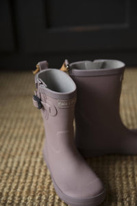 Wood Rose Welly Gumboots