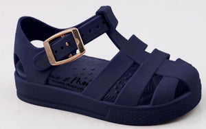 MIDNIGHT NAVY JELLY WELLY SANDAL