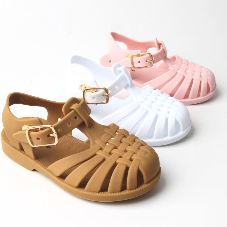 Mustard Jelly Welly Sandal