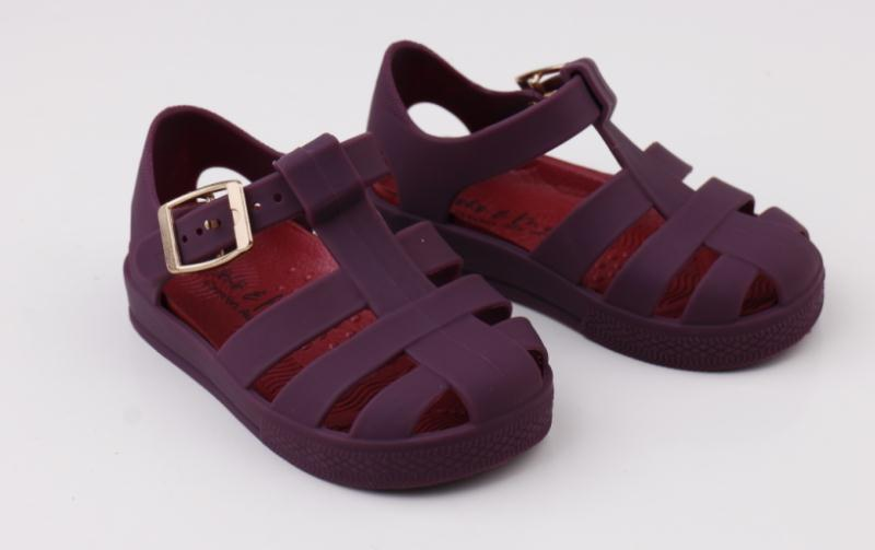 New Plum Jelly Welly Sandal