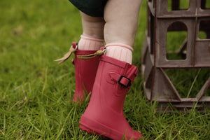 Disco Pink Welly Gumboot PREORDER