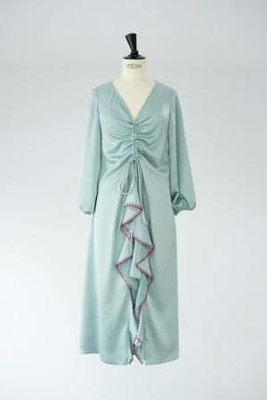 <transcy>CALIOPE AQUA DRESS</transcy>