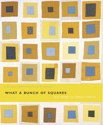 What a Bunch of Squares Notecards