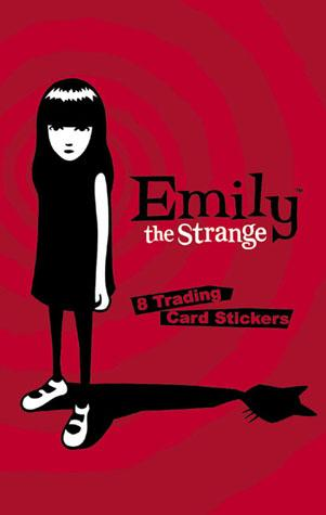 Emily the Strange: Trading Card Stickers
