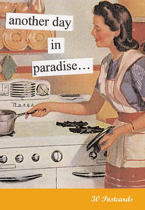 Another Day in Paradise Postcard Book