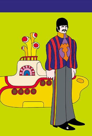 Yellow Submarine Notepad: Ringo