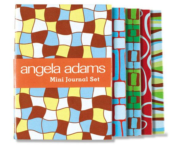 Angela Adams Mini Journal Set