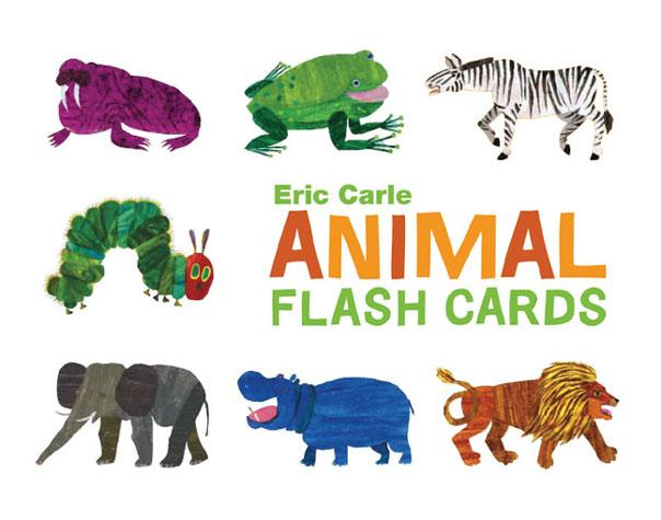 World of EC Eric Carle Animal Flash Cards - Chronicle Books