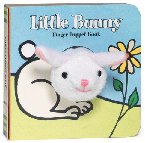 Little Bunny: Finger Puppet Book