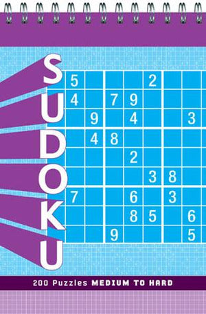 Sudoku vol. 1 Puzzle Pad: Medium to