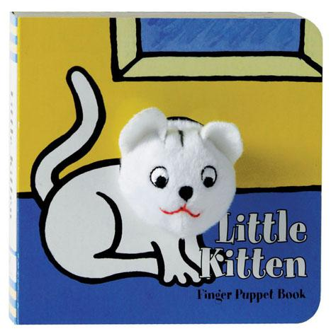 Little Kitten: Finger Puppet Book