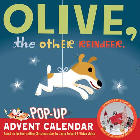 Olive Pop-Up Advent Calendar