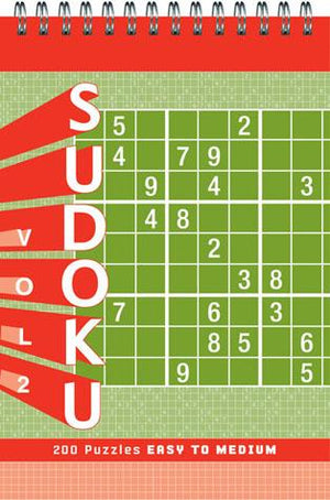 Sudoku vol. 2 Puzzle Pad: Easy to M