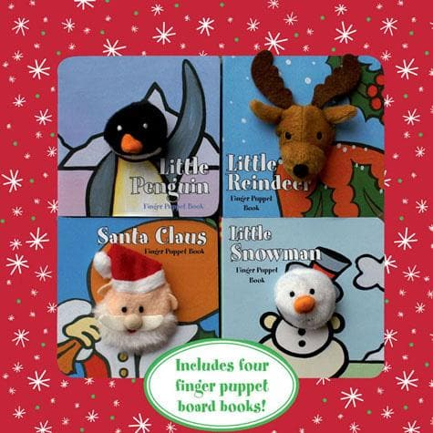 Finger Puppet Holiday Boxed Set