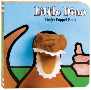 Little Dino: Finger Puppet Book