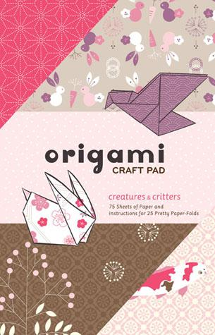 Creatures & Critters Origami Craft Pad