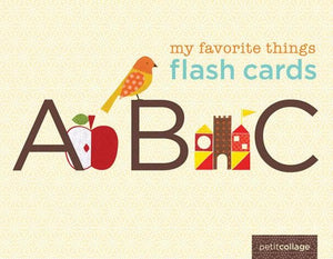 My Favorite Things Flash Cards