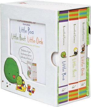 Little Books Boxed Set: Little Pea, Little Hoot, Little Oink