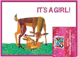 The World of Eric Carle™ It's a Girl! Birth Announcements