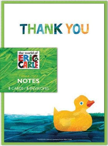 The World of Eric Carle™ Baby Shower Thank-You Notes