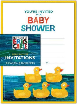 The World of Eric Carle™ Baby Shower Invitations