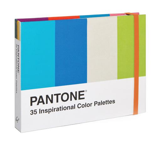Pantone: 35 Inspirational Color Palettes - Chronicle Books