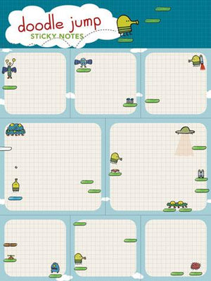 Doodle Jump Sticky Notes