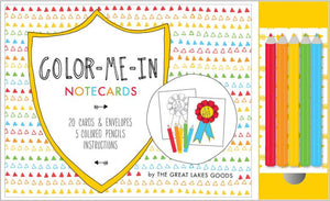 Color-Me-In Notecards - Chronicle Books