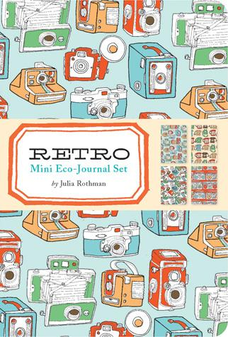 Retro Mini Eco-Journal Set - Chronicle Books