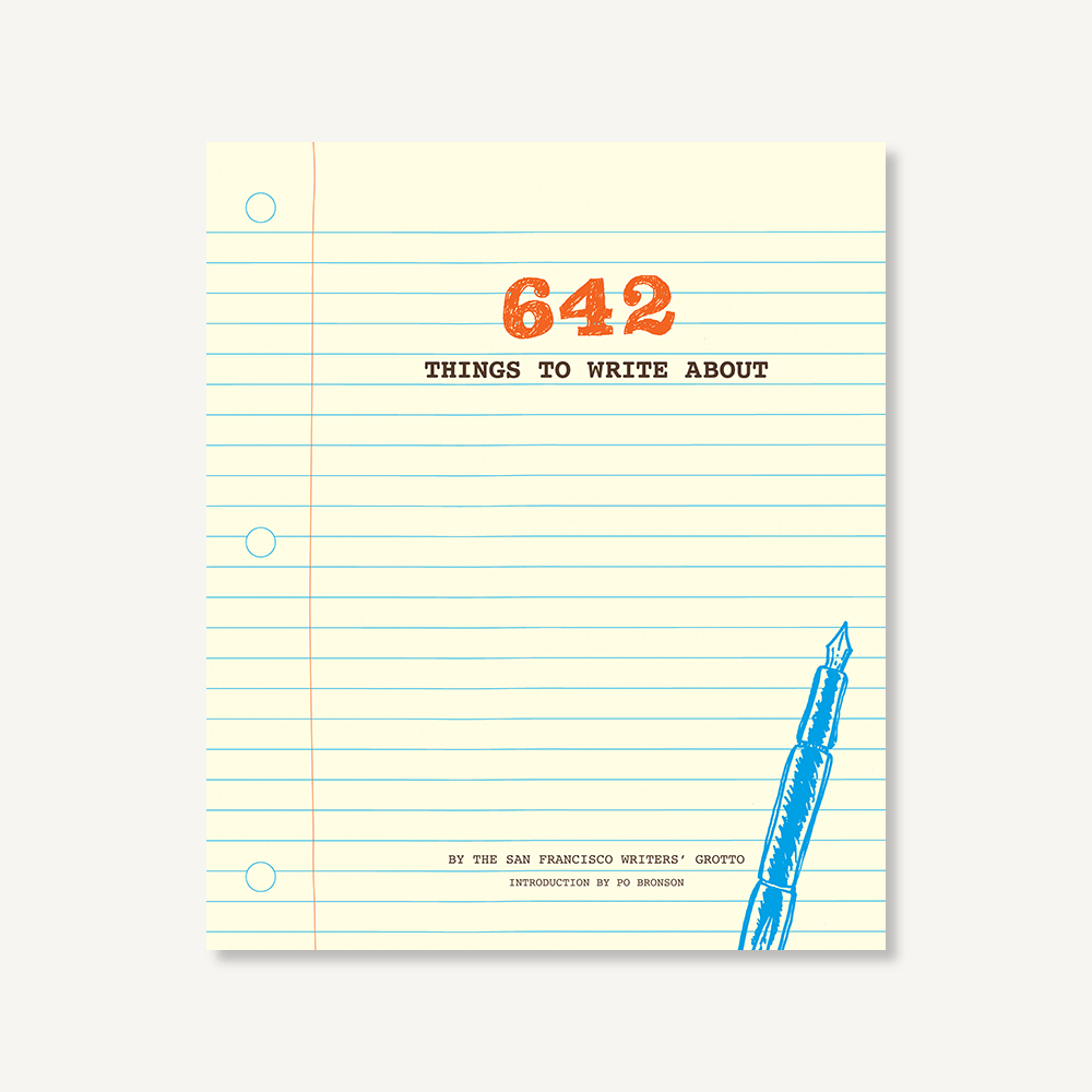 642 Things to Write Journal - Chronicle Books