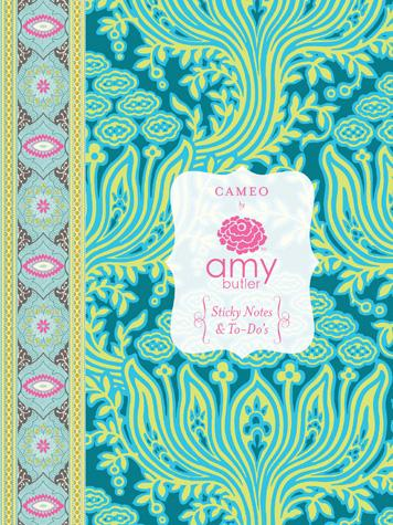 Cameo Sticky Notes & To-Do's