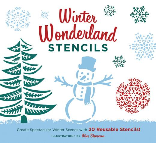 Winter Wonderland Stencils