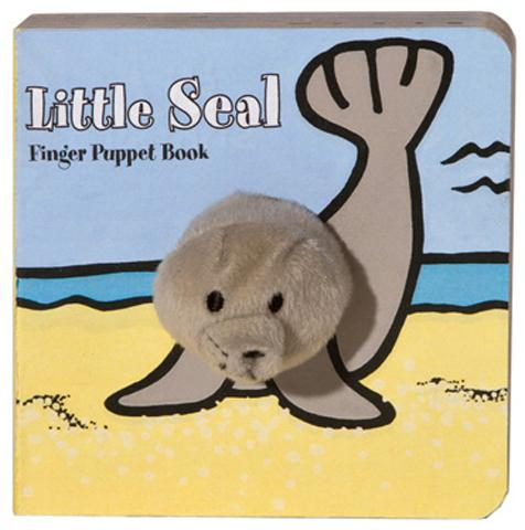 Little Seal Finger Puppet Book