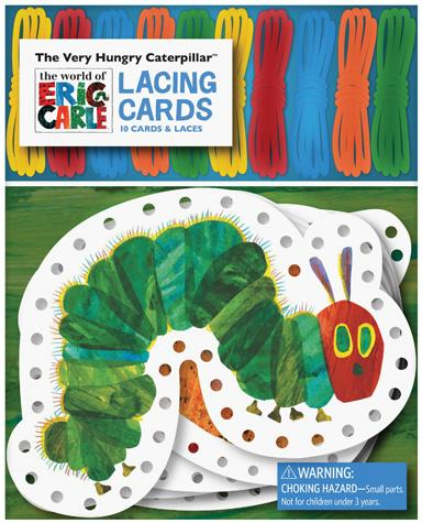The World of Eric Carle The Very Hungry Caterpillar Lacing Cards