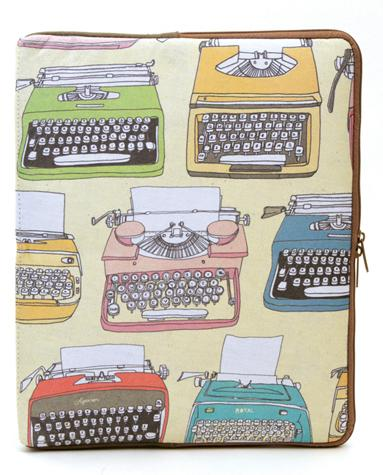 Julia Rothman Typewriter iPad™ Sleeve